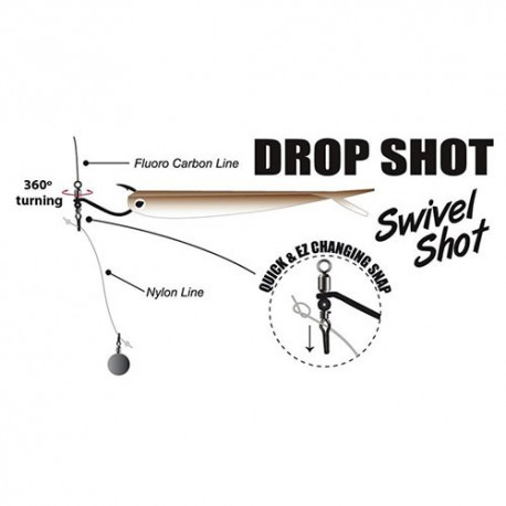 Gamakatsu Hook Swivel Shot Krok