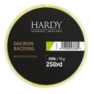 Hardy Backing 20lb 250y Lime Green