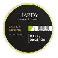 Hardy Backing 20lb 100y Lime Green