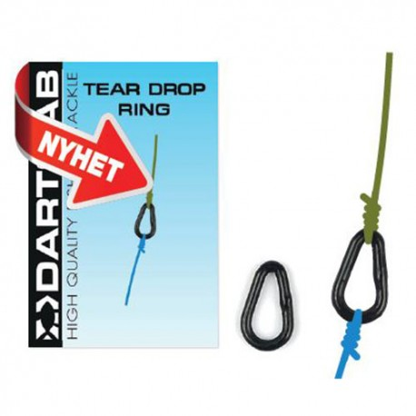 Darts Tear Drop Ring