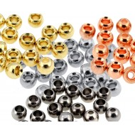 "Brass Beads ""skallar"" 3,8mm 40 Pack"