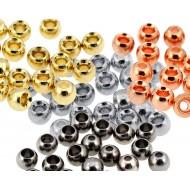 """Beads """"skallar"""" 3,3mm 40 Pack"""