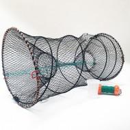 Komplett kräftfiske paket. Bur + box + flöte och hake