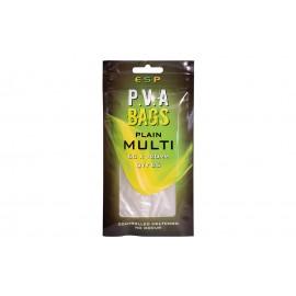 E.P.S PVA BAGS PLAIN MULTI 60x120mm 25 pack