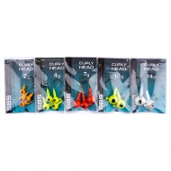 Darts Curly Head SP Fluo.Red