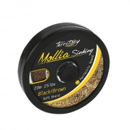 MOLLIA HOOKLINK BLACK-BROWN 55LB - 20m