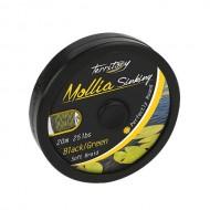 MOLLIA HOOKLINK BLACK-GREEN 55LB - 20m