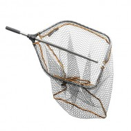 SG Pro Folding Rubber Large Mesh Landing Net