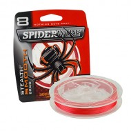 Spiderwire Stealth Smooth 8 Braid - Red