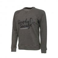 Savage Gear Simply Savage Sweater Melange Grey