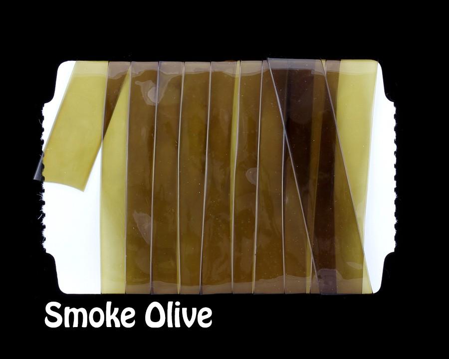 STRETCH GLASS Smoke Olive