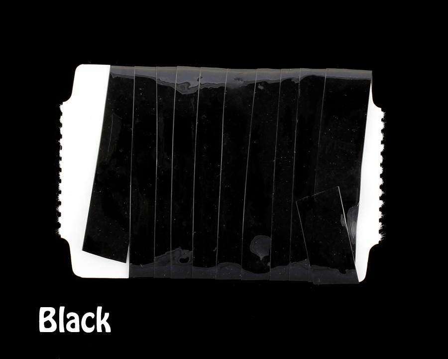STRETCH GLASS Black