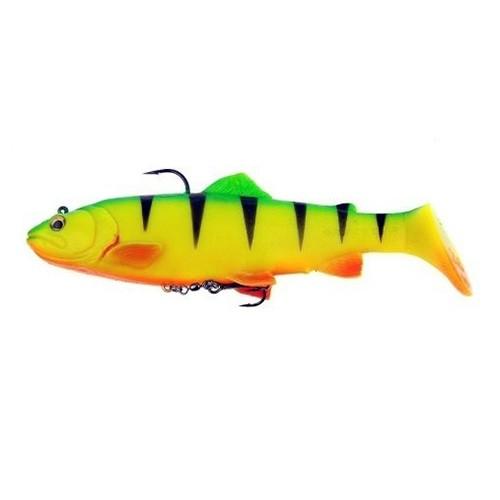 3D Trout Rattle Shad Firetiger