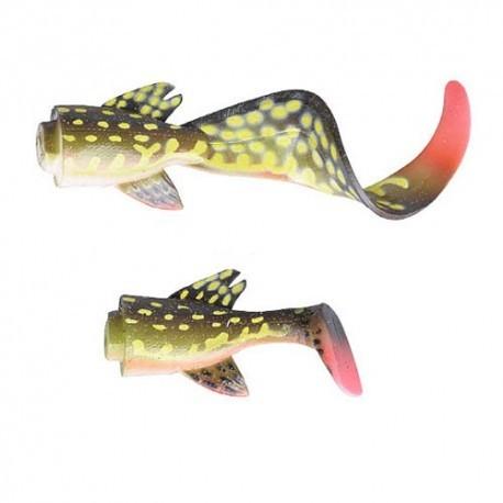 3D LB Hybrid Pike Tail Kit Yellow Pike